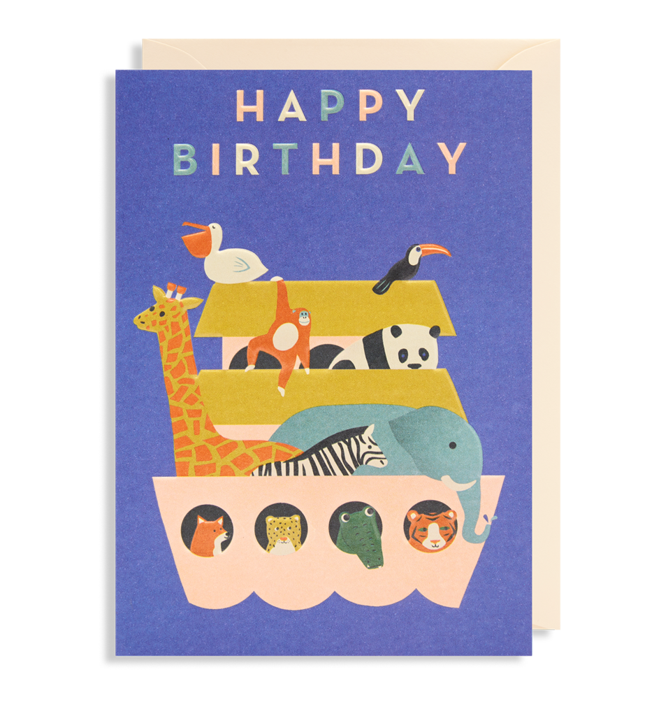 Happy Birthday Ark Card
