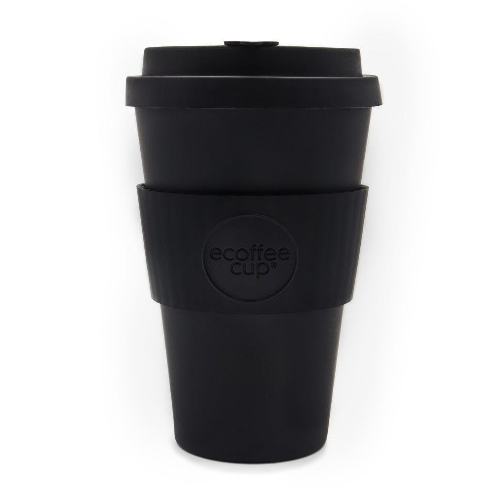 Ecoffee Cup Black Kerr & Napier 14oz
