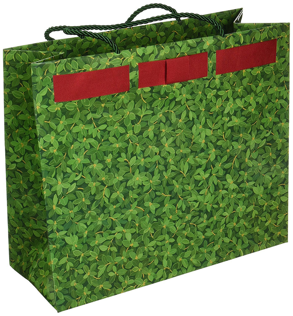 Green Boxwood Gift Bag - Large