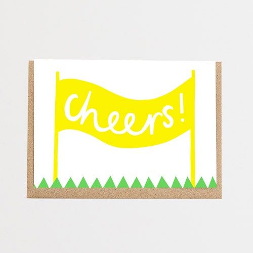 Cheers! Banner Card