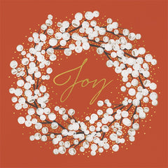 Peace and Joy Wreath Box of 10 Cards