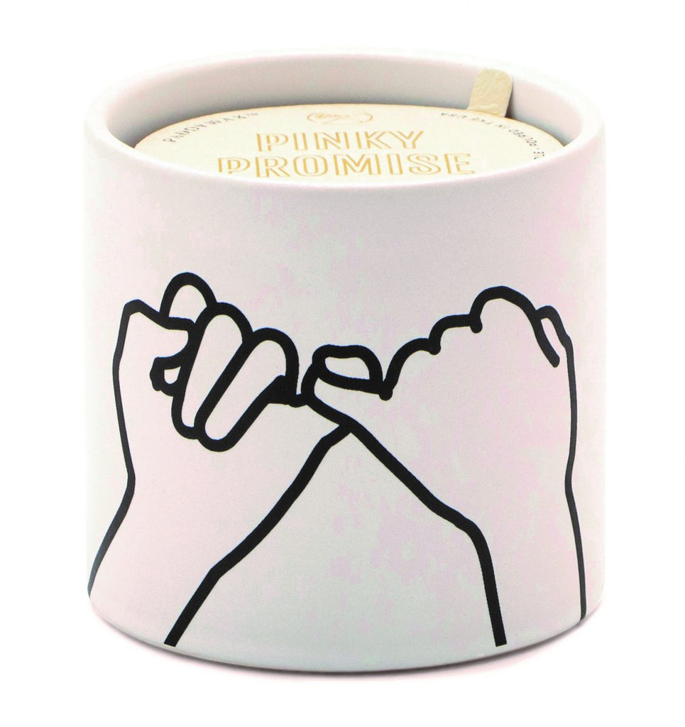 Paddywax Pinky Promise Candle - Wild Fig and Cedar
