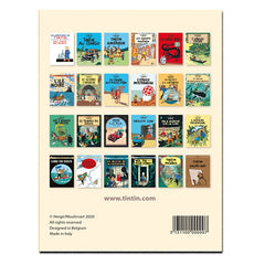 Tintin Postcards Book Covers