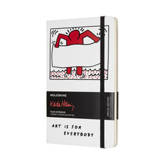 Moleskine Limited Edition Keith Haring Large Blank Notebook