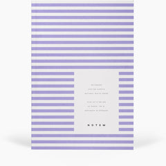 Vita Softcover Notebook Small Lavender by Notem