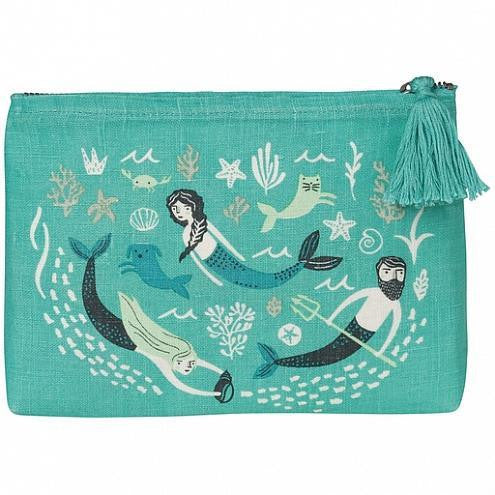 Sea Spell Large Cosmetic Bag