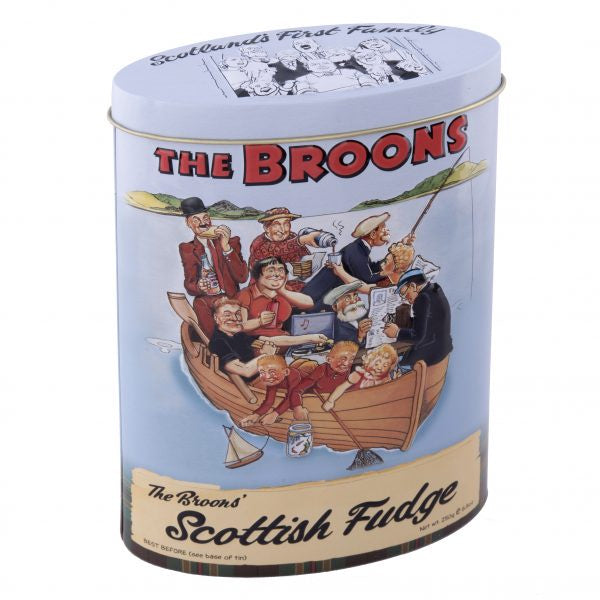 The Broons Vanilla Fudge Tin