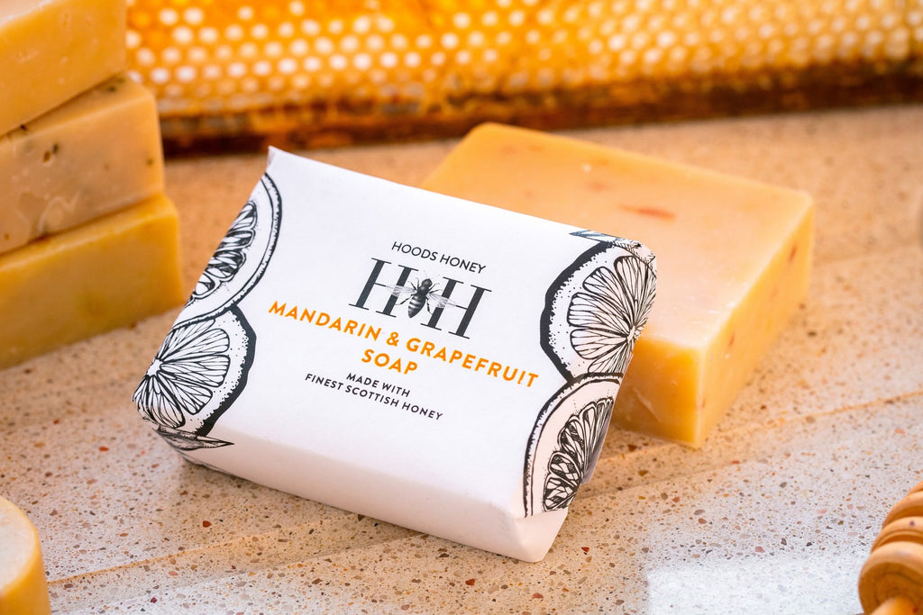 Mandarin and Grapefruit Honey Soap