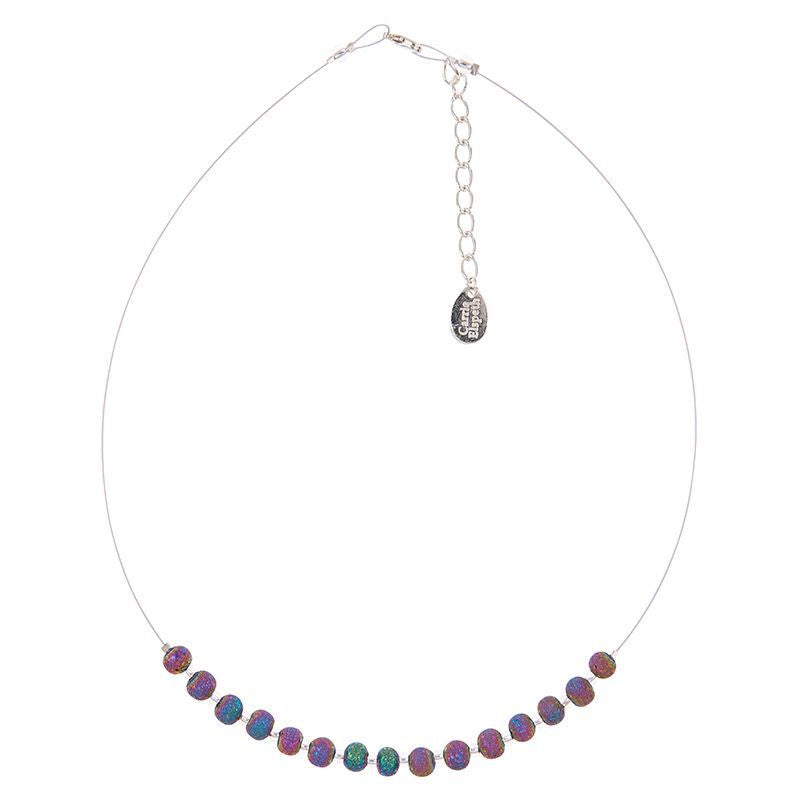 Carrie Elspeth Spectrum Lava Links Necklace