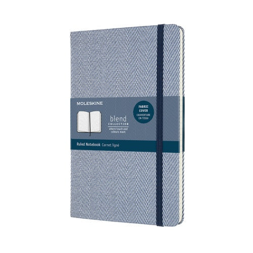 Blend Moleskine Notebook Blue Ruled
