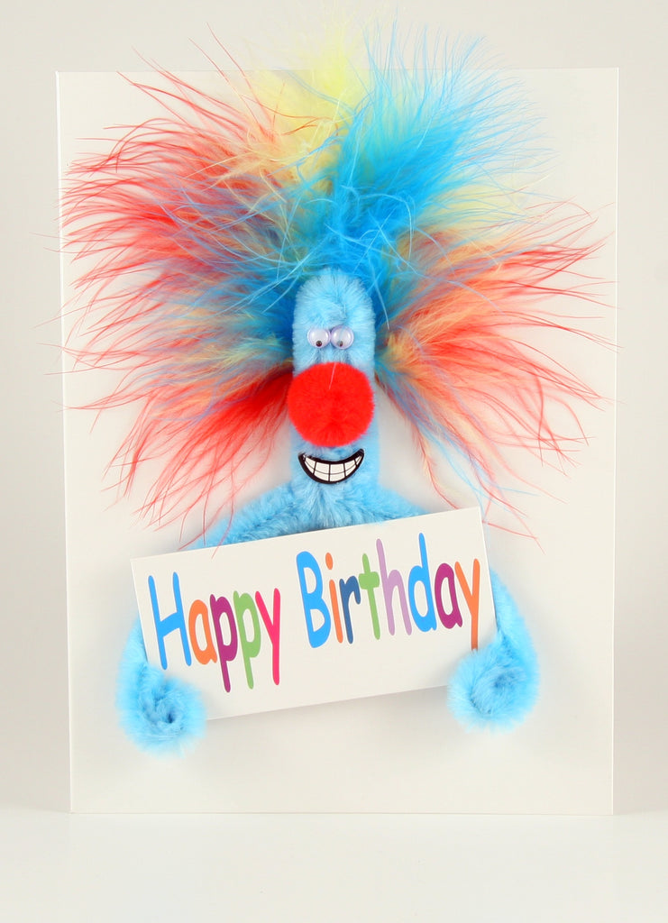 Puffy Happy Birthday Sign Card