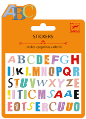 Coloured Letter Stickers