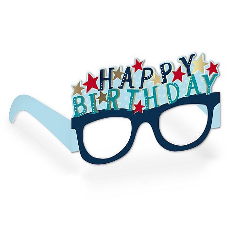 Happy Birthday Glasses Card