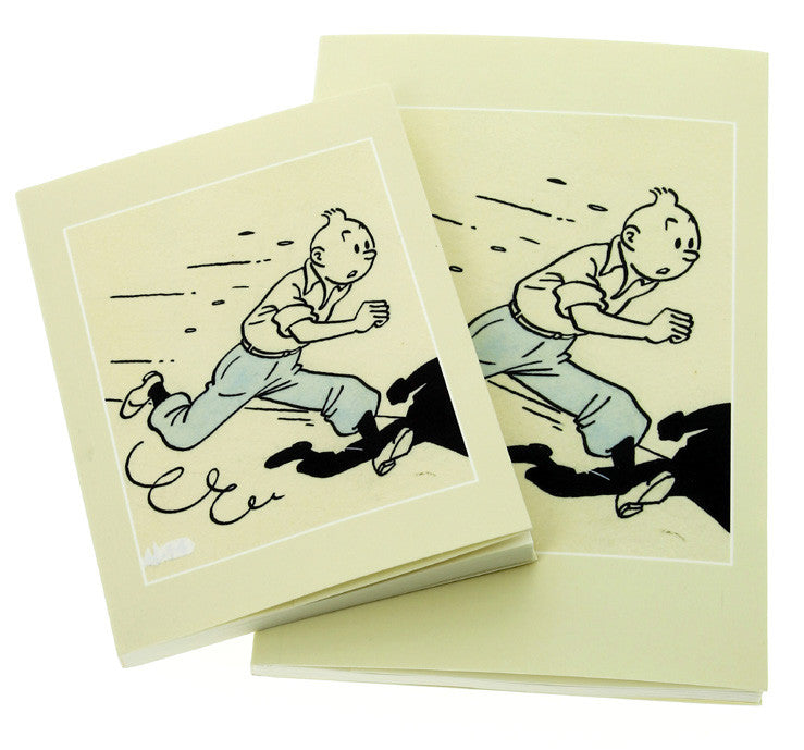 Tintin Art of Herge A5 Notebook