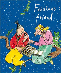 Special Friend Two Ladies Christmas Card