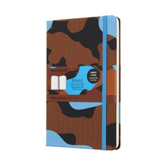 Nomad Blend Blue Camouflage Moleskine Notebook