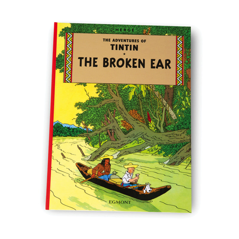 The Broken Ear Softback Book