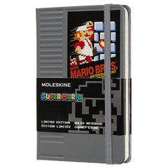 Moleskine Limited Edition Super Mario Nes Cartridge Ruled Pocket Notebook
