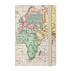 Map 2021 Medium Weekly Diary With Notebook