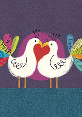Love Birds Valentine's Day Card