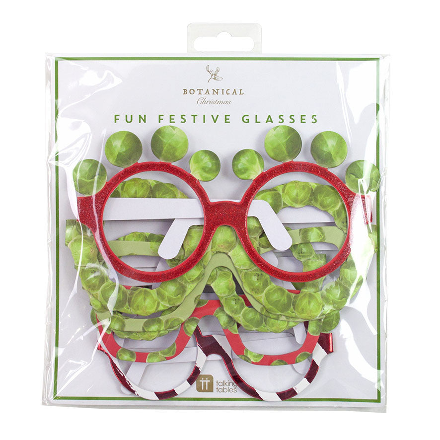 Christmas Sprout Glasses Pack of 6