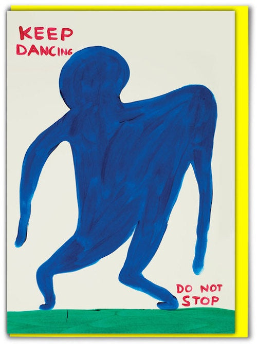 Keep Dancing Card