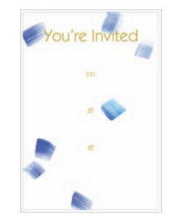 Pack of 8 Sea Breeze Party Invitations