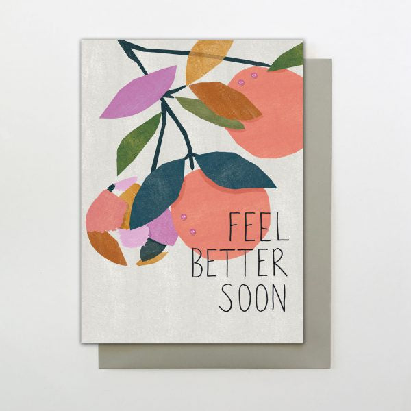 Feel Better Soon Fruit Tree Card