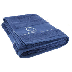 Indigo Tintin Bath Sheet Towel