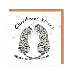 Cecile and Celeste Christmas Kisses Card by Catherine Rayner