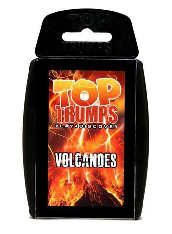 Volcanoes Top Trumps