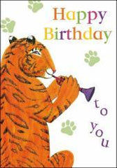 Tiger Who Came to Tea Birthday Card