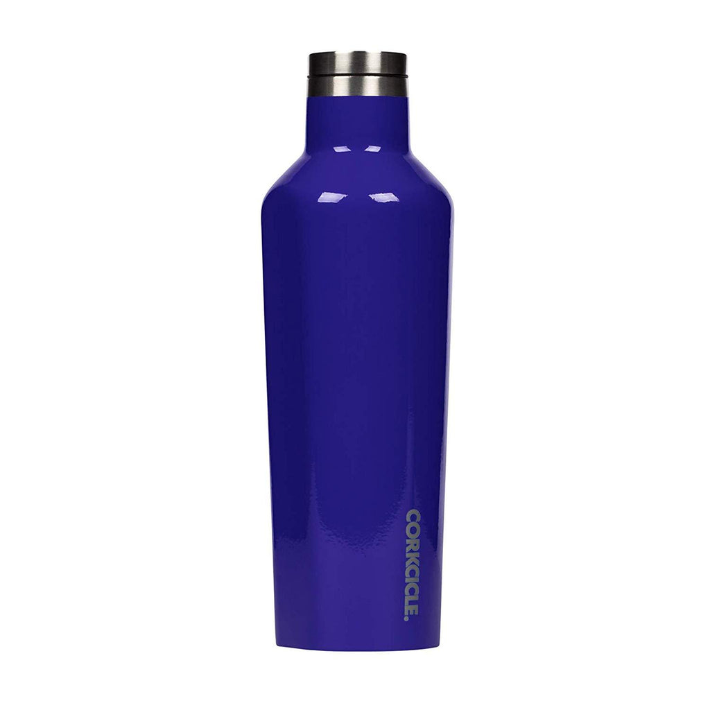 Corkcicle Gloss Cobalt Bottle 475ml
