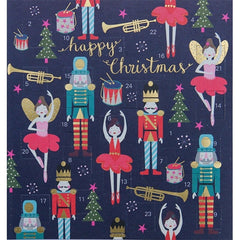 Happy Christmas Nutcracker Advent Card