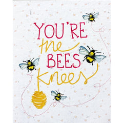 You're the Bees Knees Seed Card