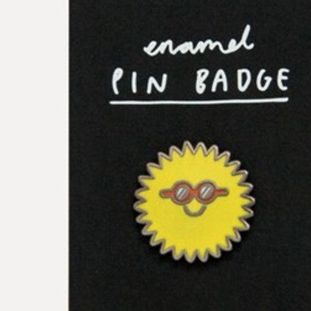 Pin Badge - Sunglasses