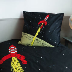 Tintin Single Duvet Set Rocket