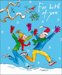 Quentin Blake For Both Of You Christmas Card