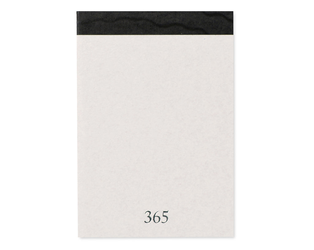 A7 White Japanese Paper Notebook