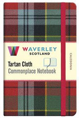 Tartan Cloth Notebook - Caledonia
