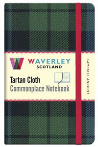 Tartan Cloth Notebook - Campbell Ancient