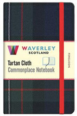 Tartan Cloth Notebook - Mackay Ancient