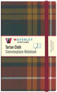 Tartan Cloth Notebook - Buchanan (Large)