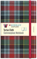 Tartan Cloth Notebook - Caledonia (Large)