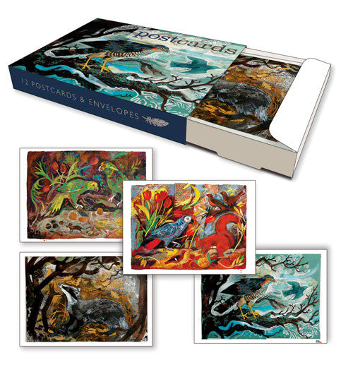Box of 12 Mark Hearld Postcards