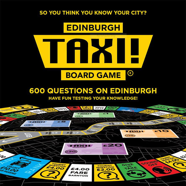 Edinburgh Taxi Board Game