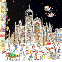 A View of St Giles Cathedral Pack of 6 Christmas Cards