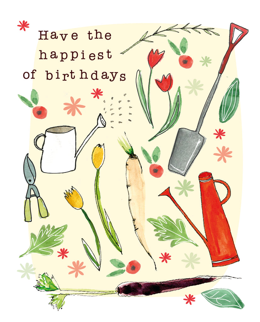 Happiest Birthday  Seed Card