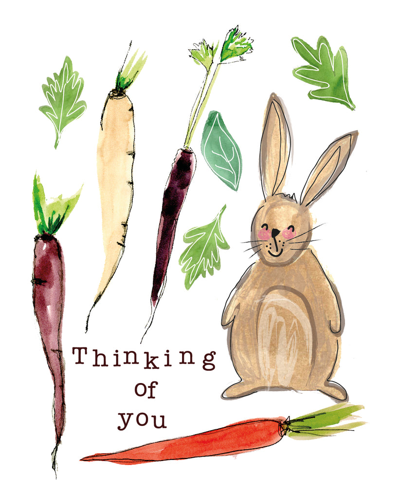Thinking Of You Hare Seed Card