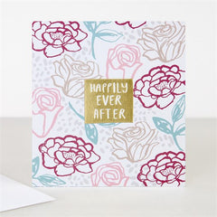 Happily Ever After Wedding Jumble Card